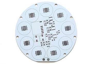 Circuito impresso furo metalizado